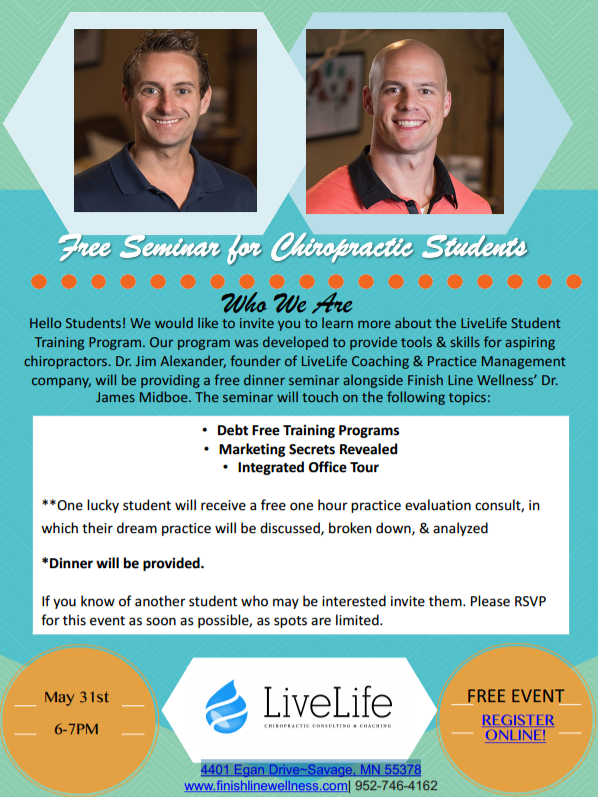 FreeSeminar for Chiropractic Students
